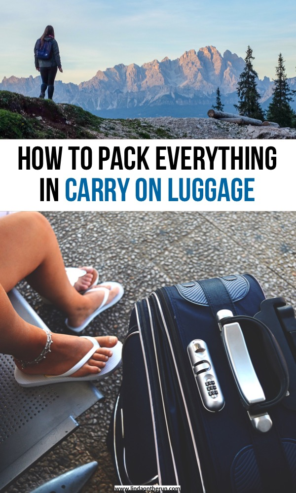How To Pack Light On Your Next Trip Using Only A Carry-On | How to pack everything in carry on luggage for travel | carry on packing tips | hand luggage packing tips | how to pack in hand luggage only for a flight | how to fit everything in a carry on | travel packing tips | how to pack light for travel