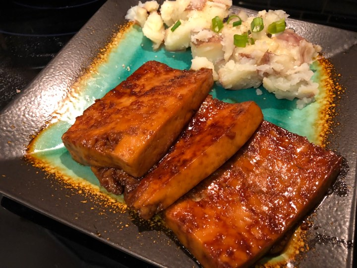 Easy 10-Minute Sweet and Sour Tofu