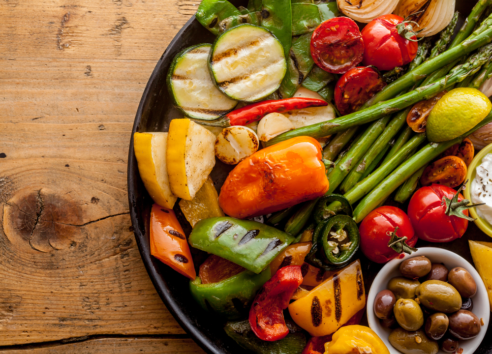 How I cut back on sugar is by eating lots of veggies