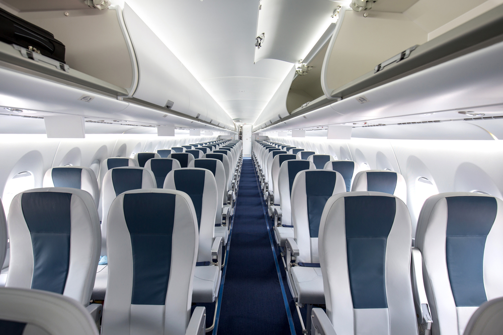 how to survive long haul flights airplane interior