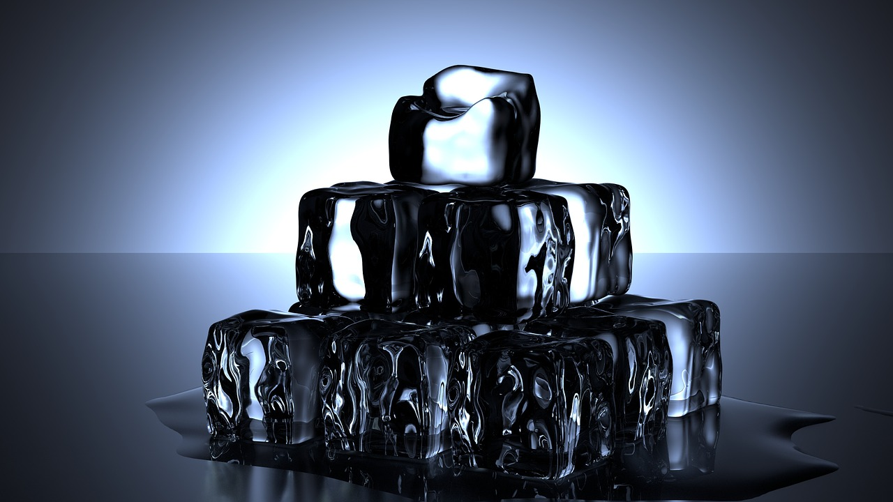 run hot ice cubes