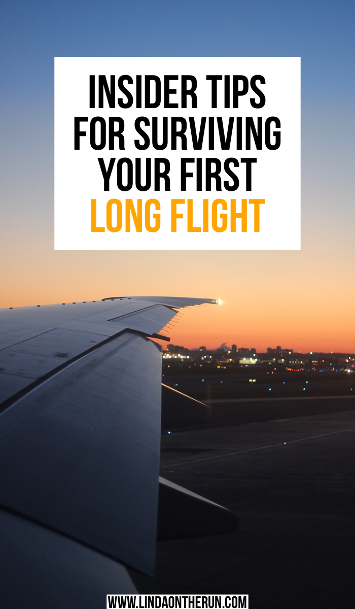 Insider Tips For Surviving Your First Long Flight | 7 Tips For Surviving Long International Flights | Tips for flying long-haul flights for the first time | best things to do when flying on a long flight | travel tips for flying