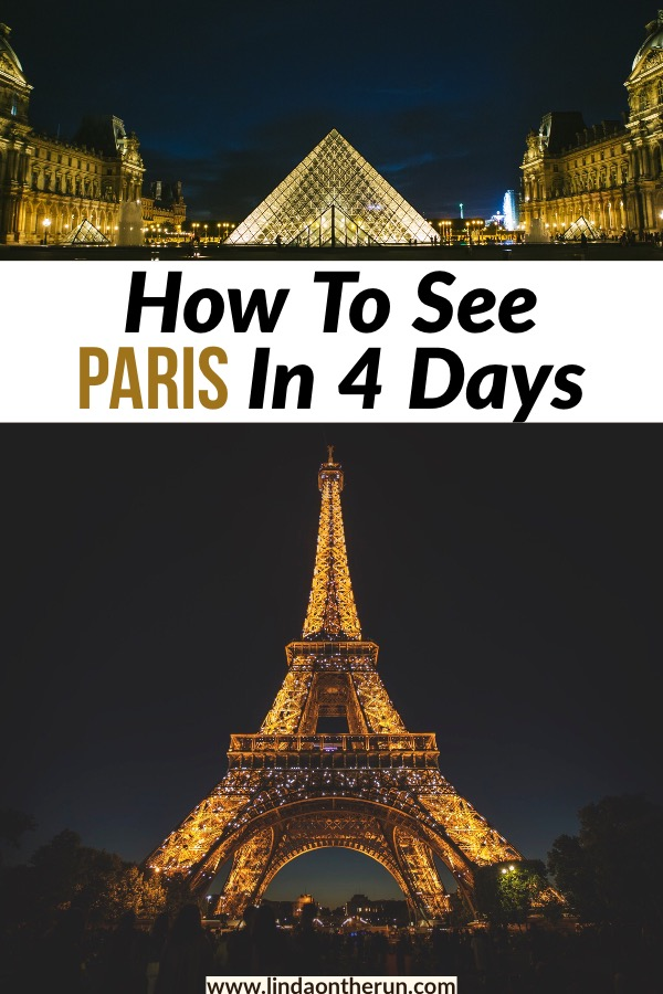 This is the best way to see paris in 4 days! If you are looking to spend four days in Paris, this is the best way! Seeing Paris in 4 days has never been easier! #paris #travel #europe #itinerary #eiffeltour