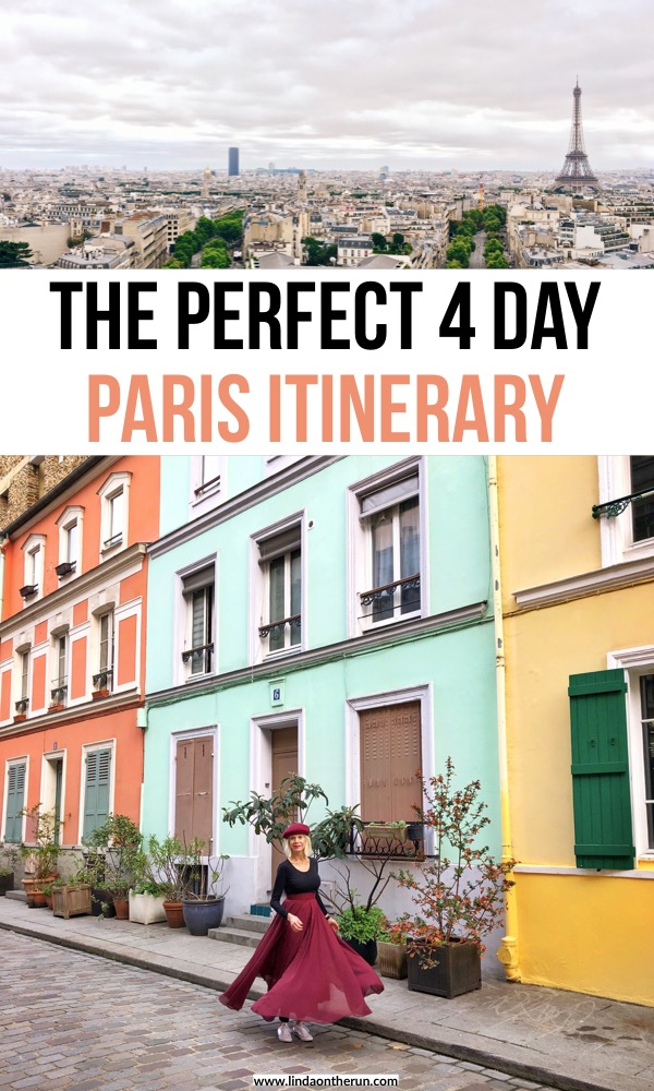 The Perfect 4 Day Paris Itinerary | 4 days in Paris | four days in Paris | what to do in Paris for first timers | best things to do in Paris | paris travel tips #paris #itinerary