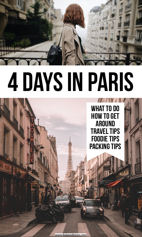 The Ultimate 4 Days In Paris Itinerary   How to spend a long weekend in Paris   what to do in Paris with 4 days   Paris itinerary in four days   Paris travel tips   travel guide to paris