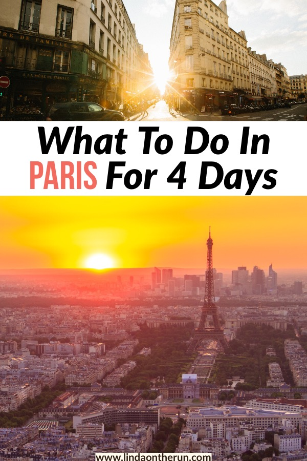 What To Do in Paris For Four Days | how to spend 4 days in paris | paris itinerary for four days | things to do in paris for four days | the perfect paris itinerary #paris #europe #itinerary #travel