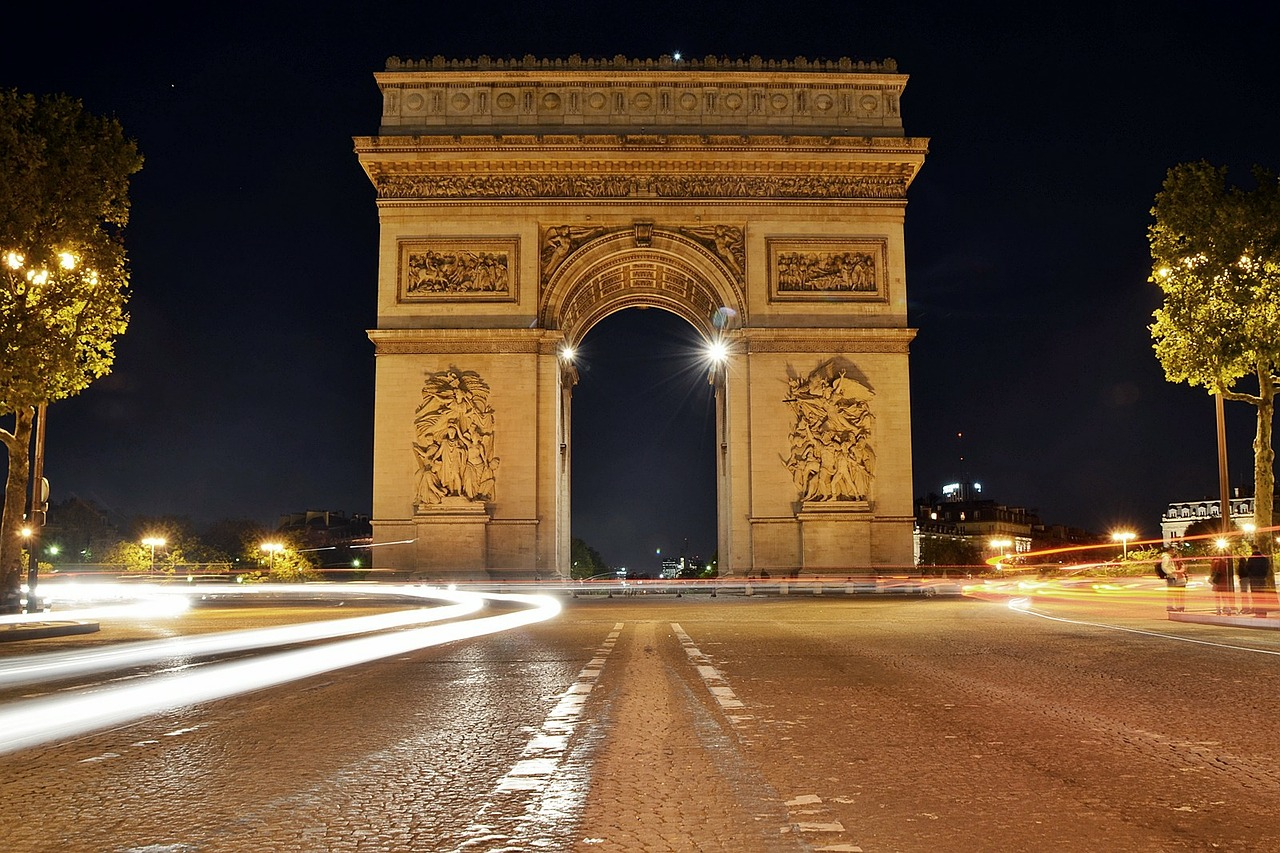 Paris 4 day itinerary arc de triomphe