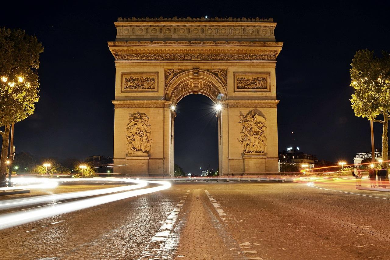 Paris 4 day itinerary arc de triomphe