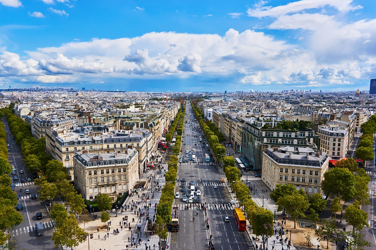 Paris 4 day itinerary are cive