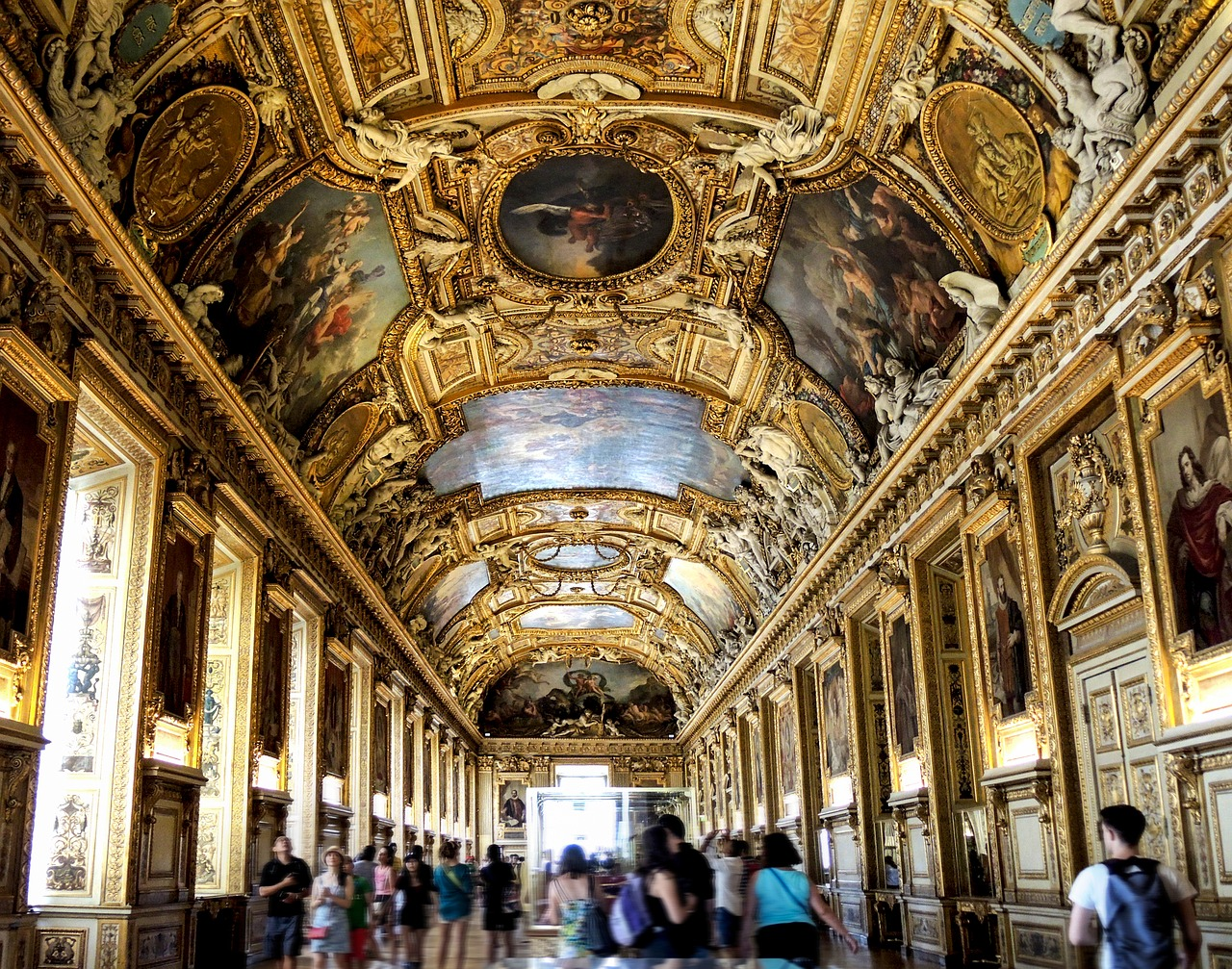 Paris 4 day itinerary louvre 3