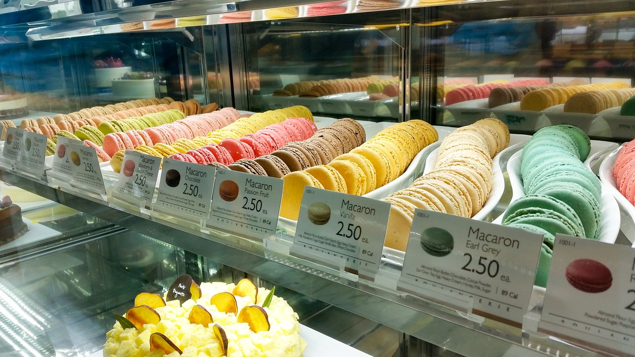 Paris 4 day itinerary macaroons