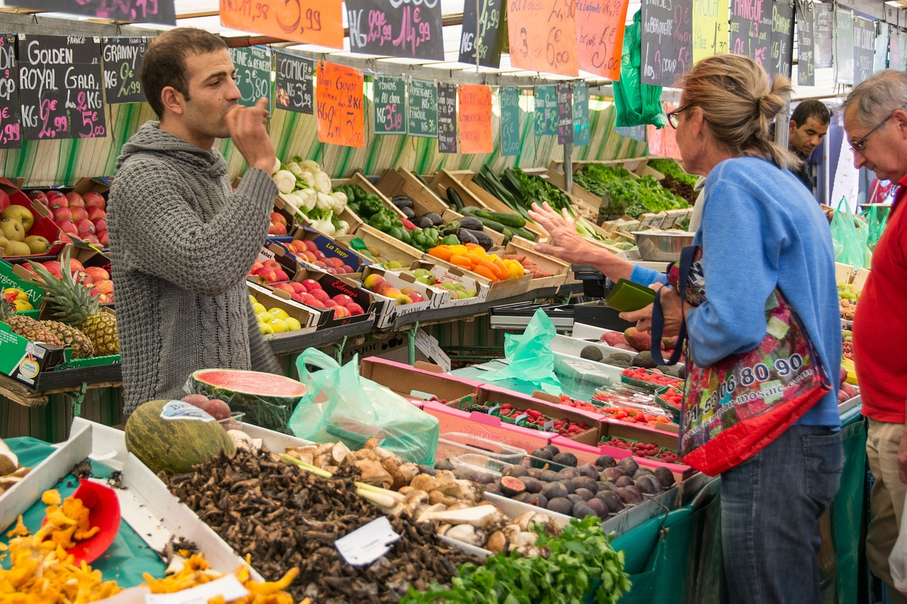 Paris 4 day itinerary market