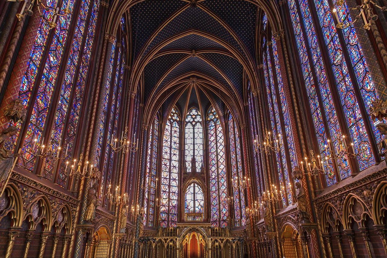 Paris 4 day itinerary sainte chapelle