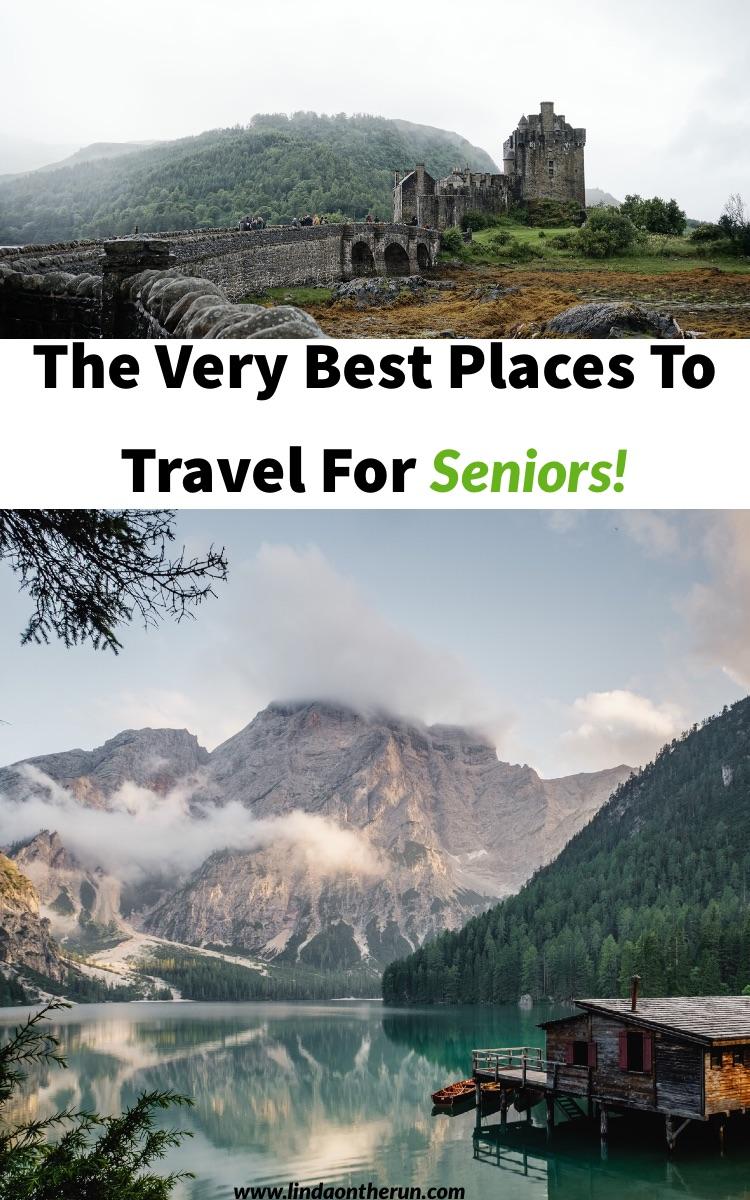 best senior travel destinations | top solo senior travel destinations | where to go on a senior trip | senior travel tips | how to travel with seniors | where to go on a senior trip #seniors #senior #seniortravel #seniortrip #peru #canada #banff #ireland #dublin #alaska #america #europe #traveltips