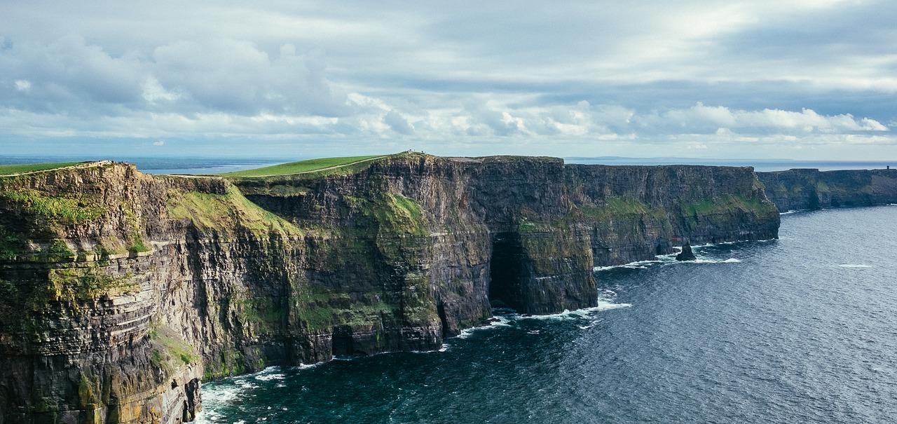 boomer travel ireland cliffs