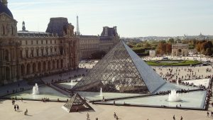 2 days in Paris itinerary Louvre Pyramid