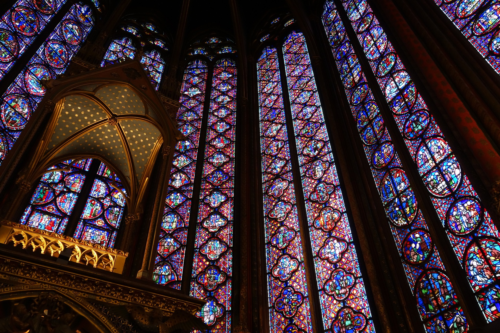 2 days in Paris itinerary sainte chapelle