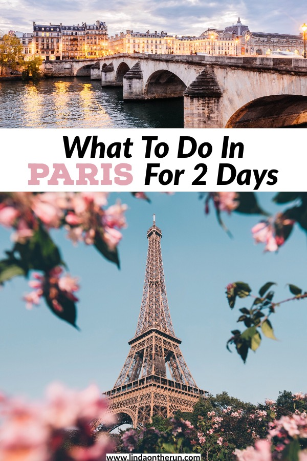 This 2 days in Paris itinerary will show you everything to do in Paris in two days! You will find out how to see Paris in 2 days in this easy guide! | Paris itinerary for two days | things to do in Paris for 2 days #paris #france #itinerary