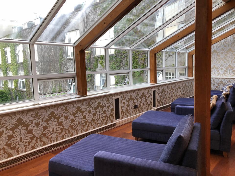 Parknasilla blue lounges