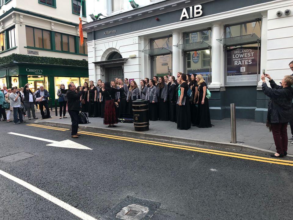things to do in Killarney choir