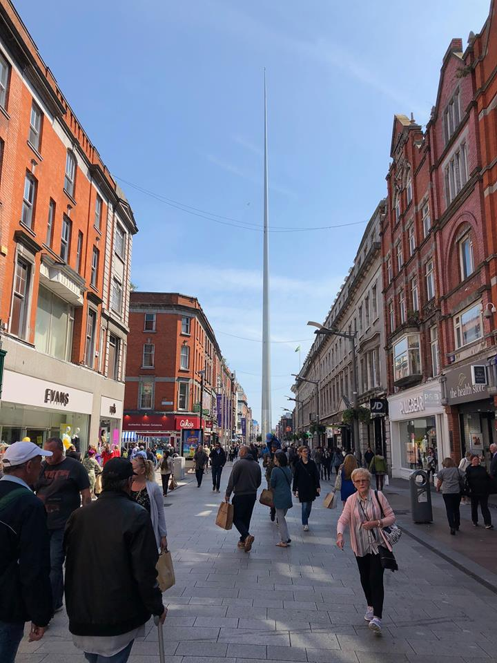 2 days in Dublin itinerary Spire