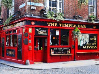 2 days in Dublin itinerary TEMPLE bar