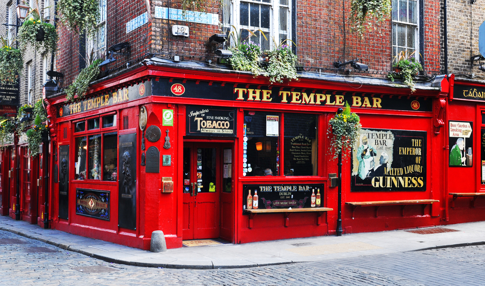 2 days in Dublin itinerary TEMPLE bar