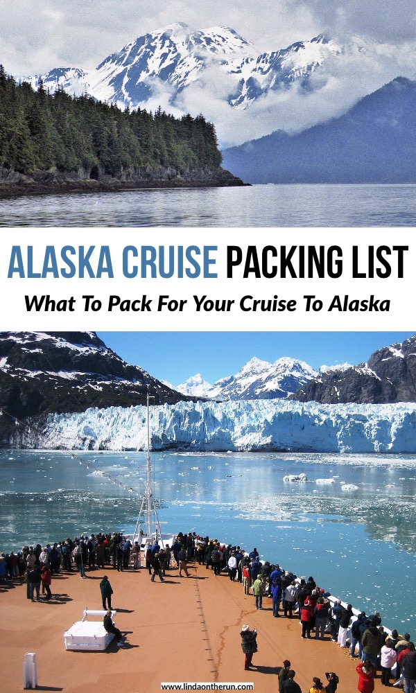 The Perfect Alaska Cruise Packing List For Any Time Of Year | What to pack for an Alaskan Cruise | how to pack for a cruise to Alaska | Best alaskan cruise packing list | what to wear for an alaskan cruise | things to bring for your cruise to Alaska #alaska #cruise