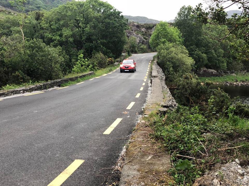 europecar on road