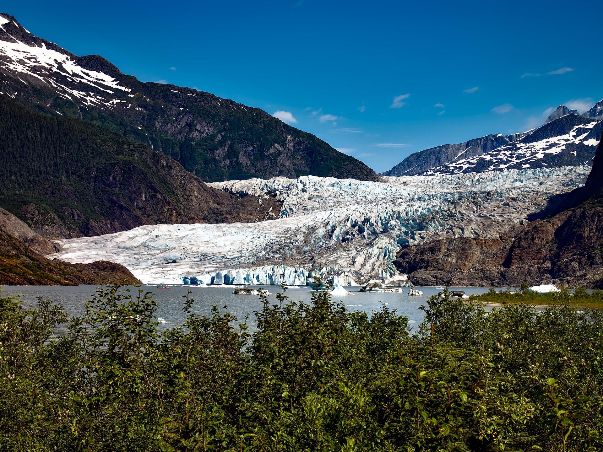 Alaska Itinerary Mendenhall Glacier