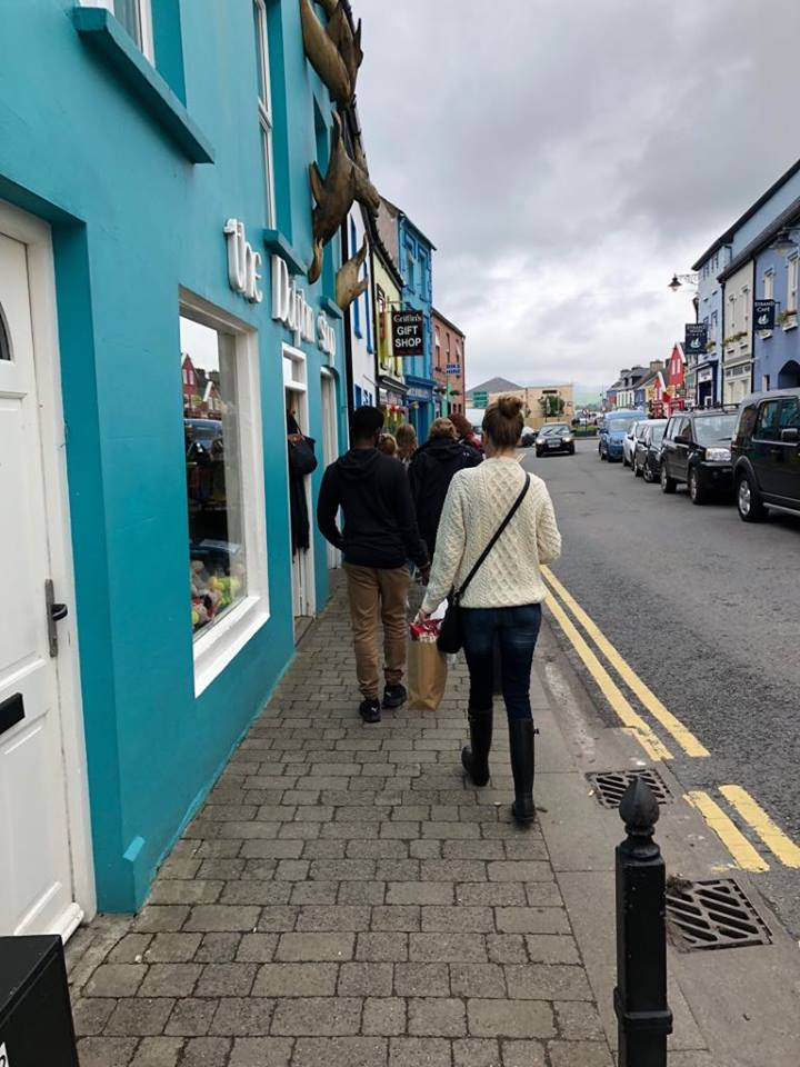 things to do in Dingle shopping vj tj
