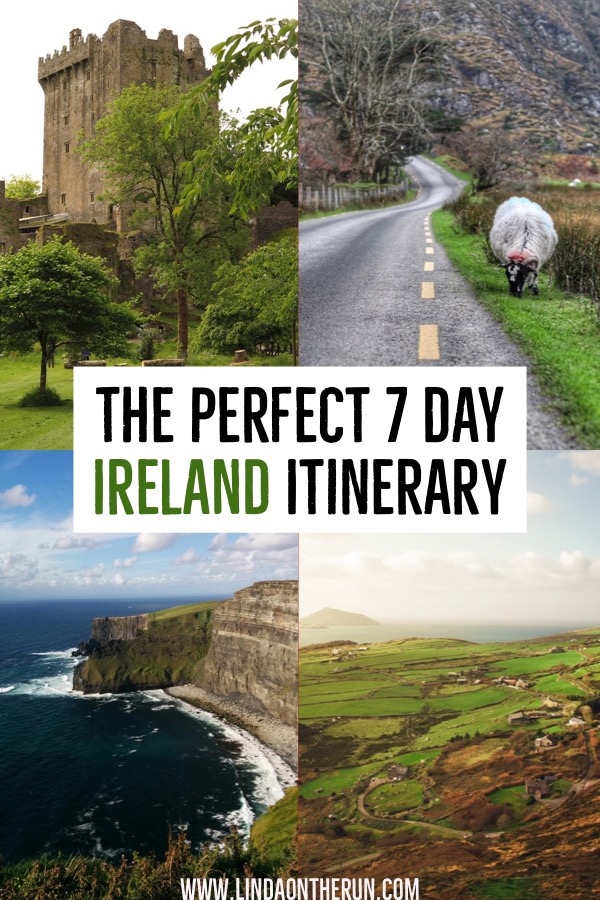 The Ultimate 7 Day Ireland Itinerary   How to plan your trip to Ireland   Ireland travel tips   how to spend 7 days in Ireland   Ireland itinerary planning tips   top things to do in Ireland in 7 days