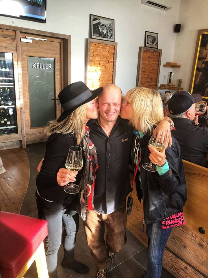 Viking European River Cruise Melk kissing vintner