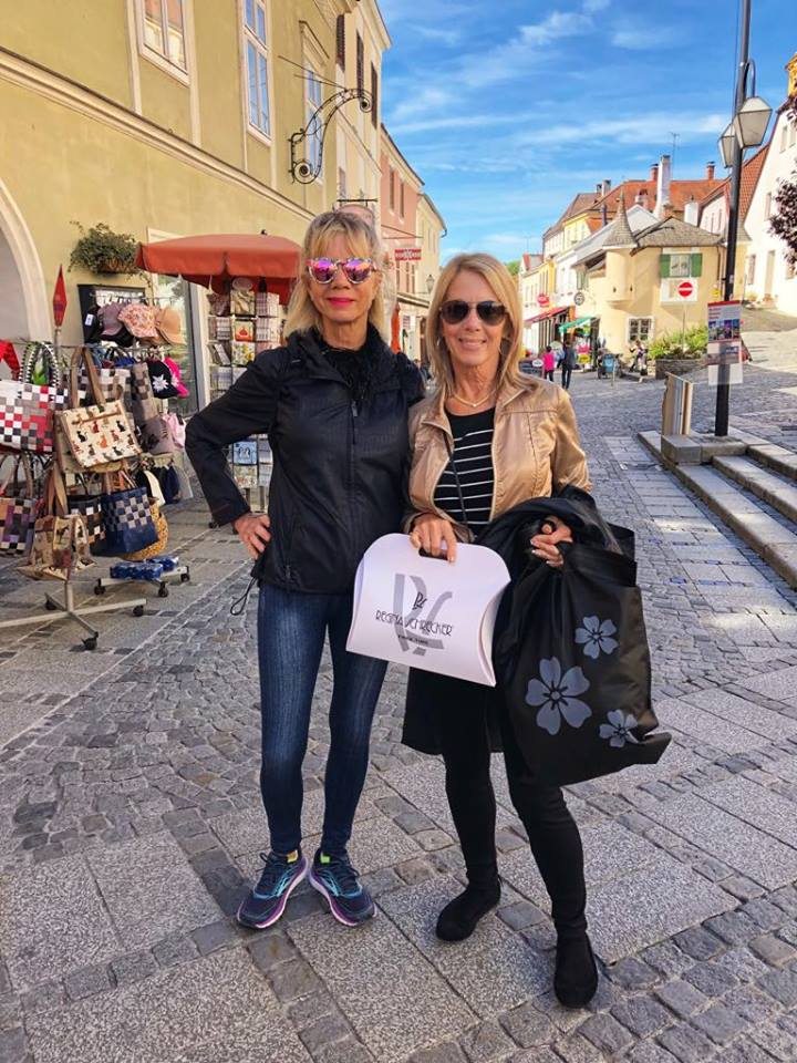 Viking European River Cruise Melk shopping