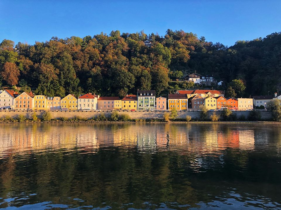 Viking European river Cruise Passau landscape