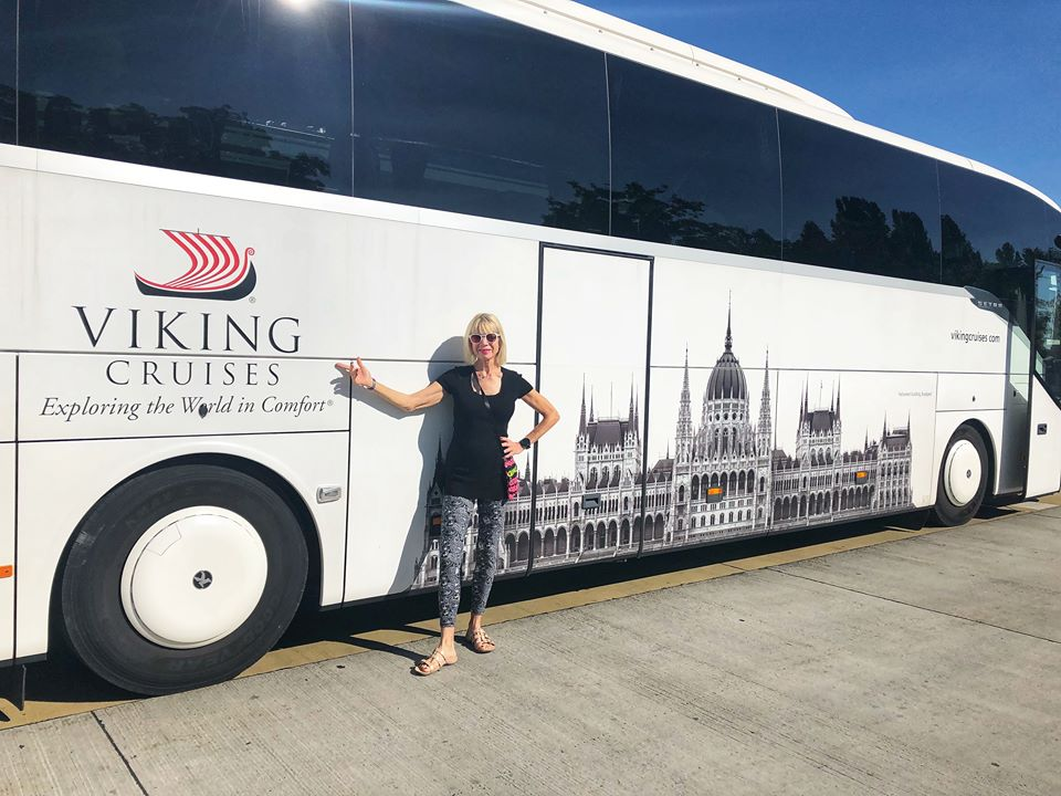 Viking European River Cruise Vienna coach