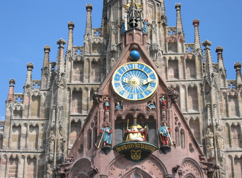 Viking Grand European Tour Church of our Lady Clock Nuremberg