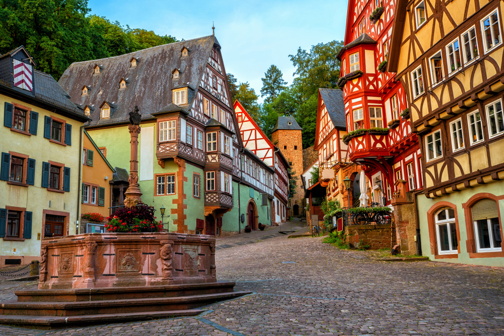 Viking Grand European Tour Miltenberg historical half timbered houses