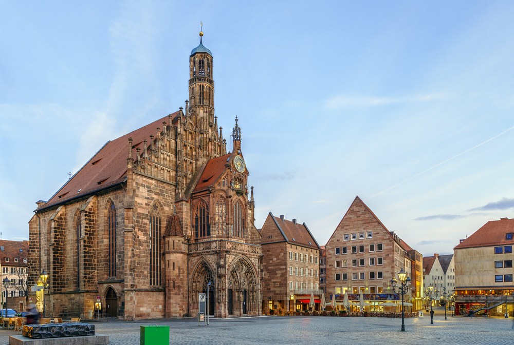 Viking Grand European Tour Nuremberg old town with church
