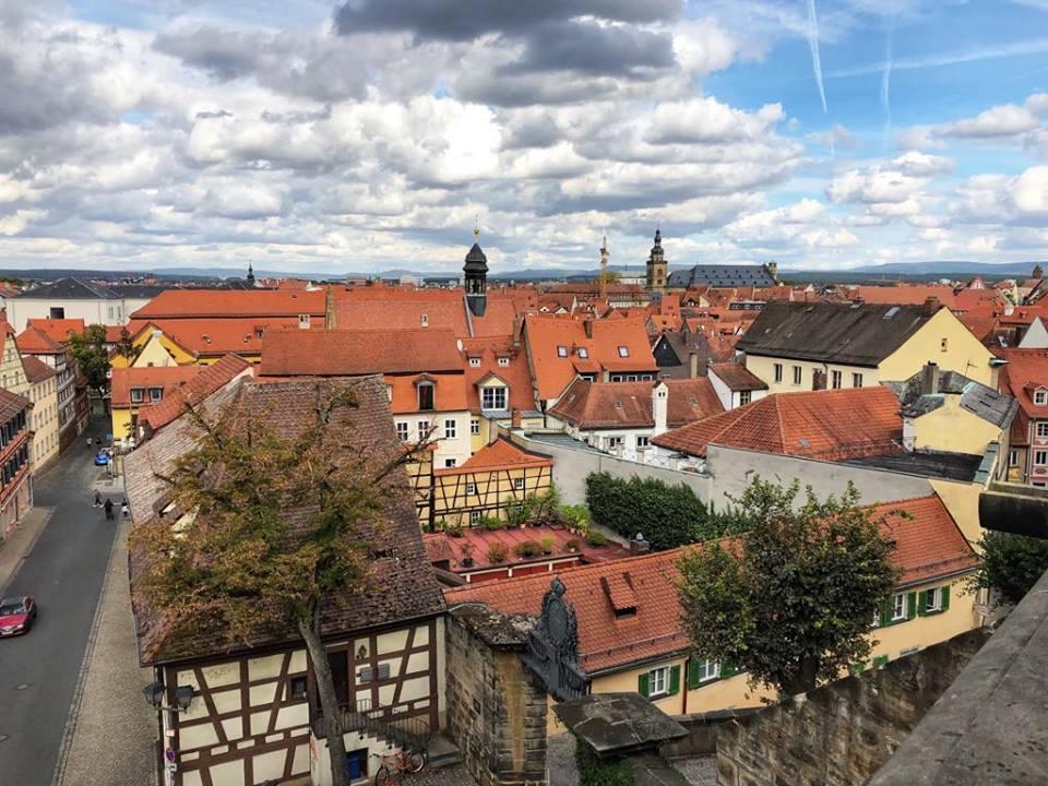 Viking River Cruise Bamberg rooftops