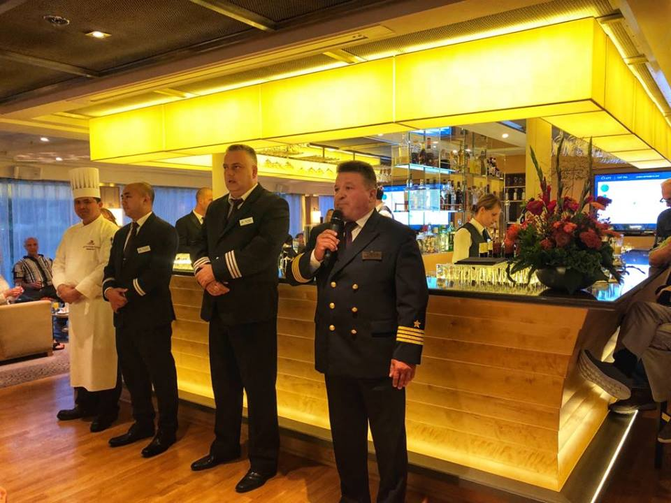 Viking River Cruise Magni officers