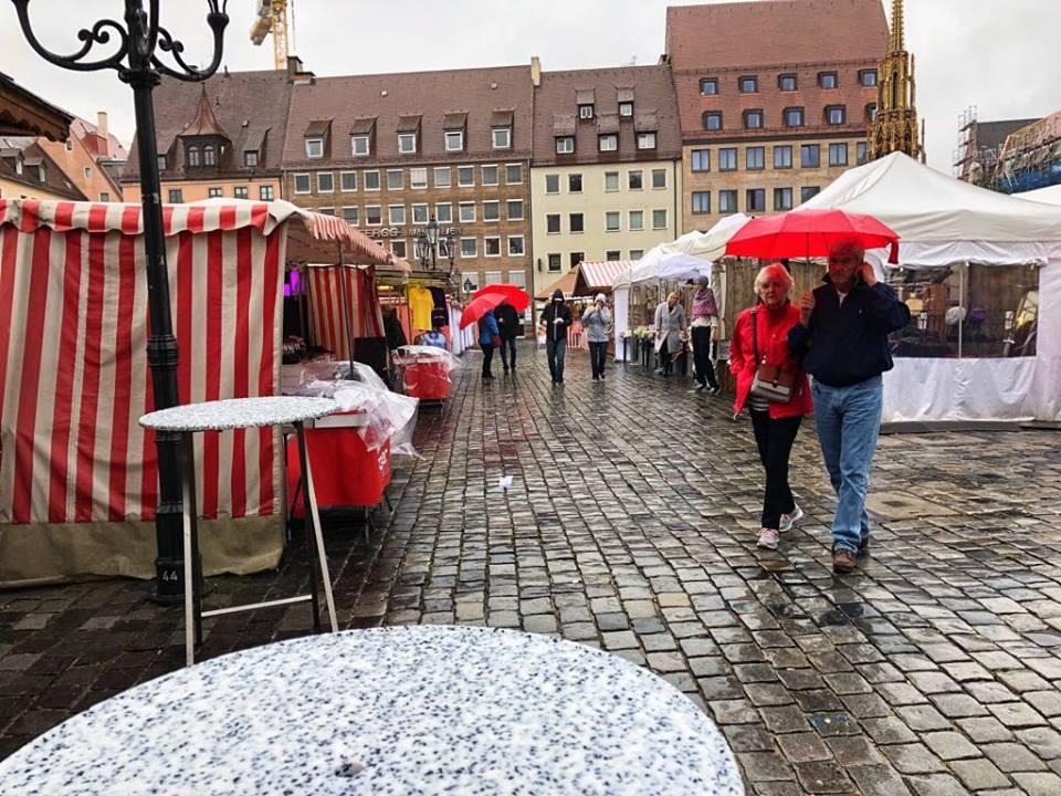 Viking River Cruise Nuremberg market