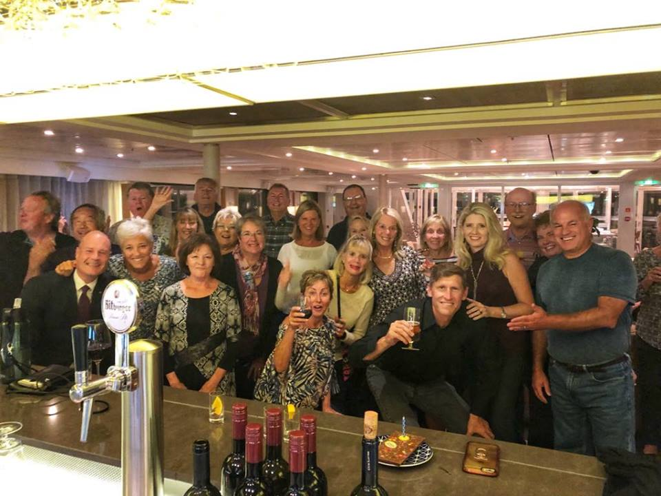 Viking River Cruise birthday party