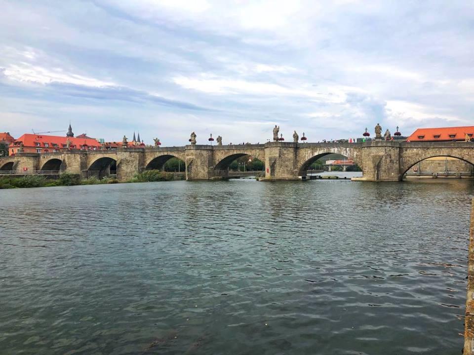 Viking River Cruise chain bridge