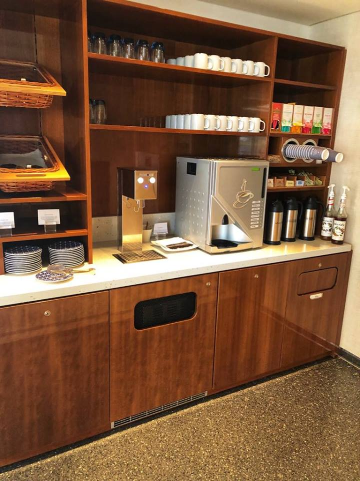 Viking River Cruise coffee station
