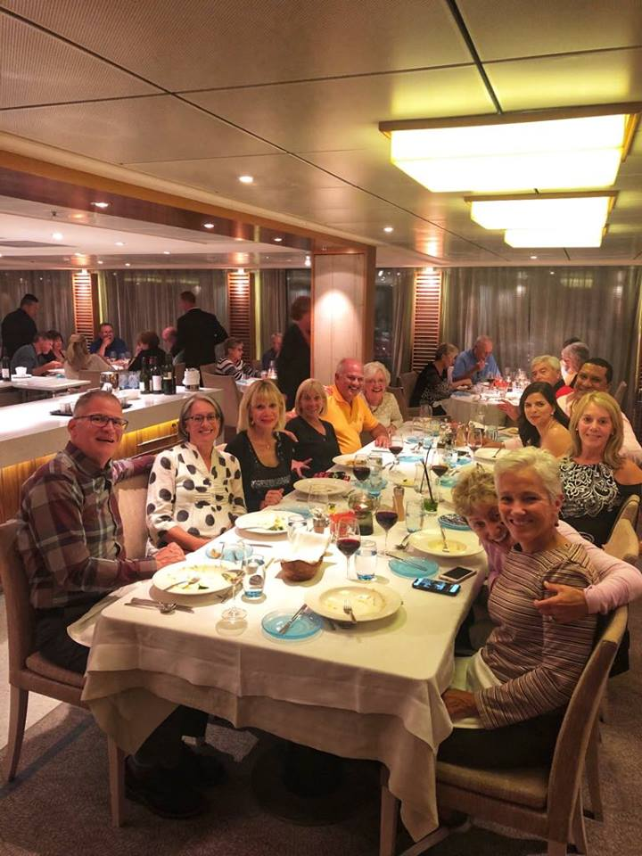Viking River Cruise dinner