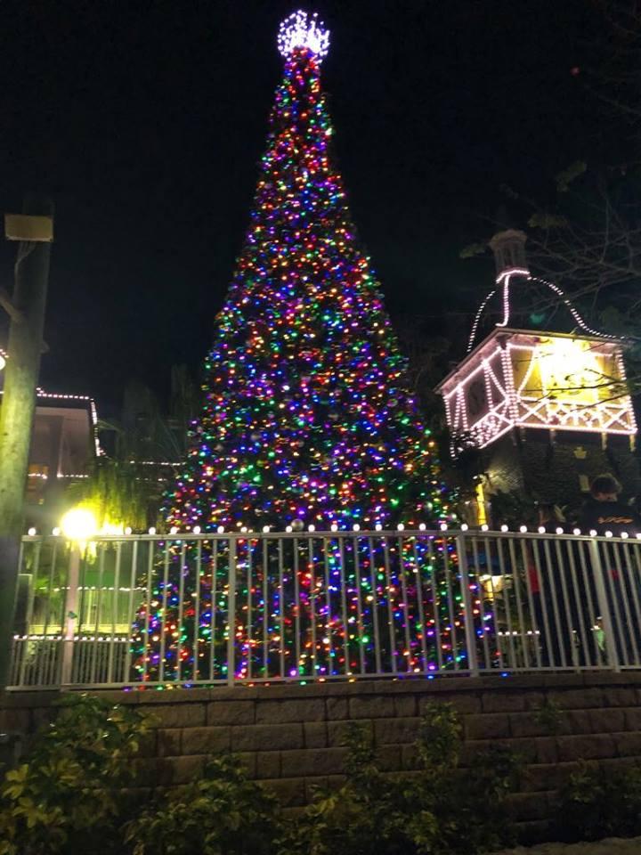 BG Christmas town christmas tree