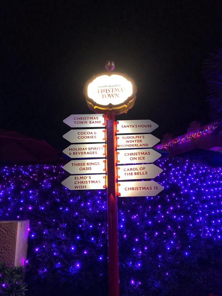 BG Christmas town sign 2