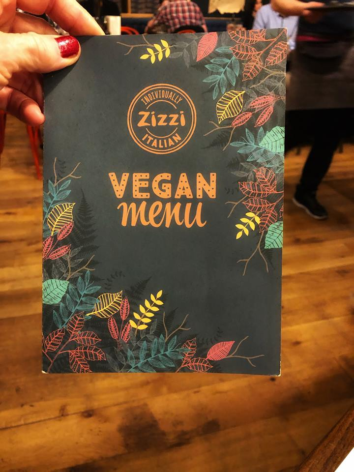 First time in London vegan menu
