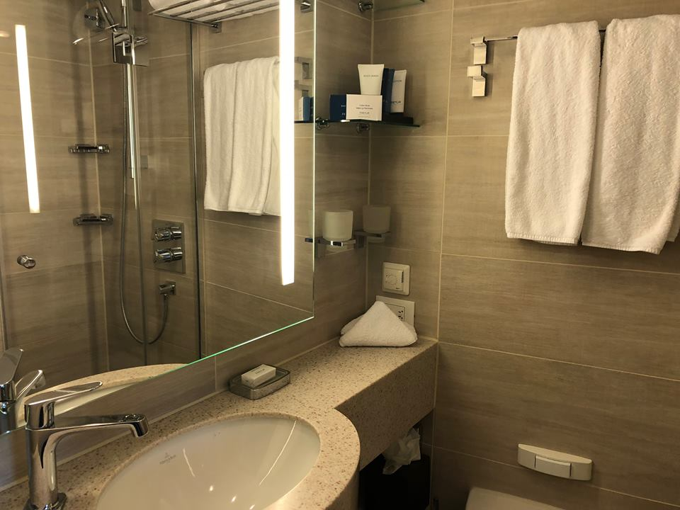 Viking river cruise tips bathroom